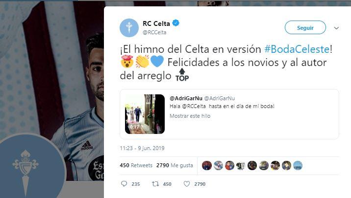 Twitter Celta de Vigo